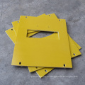 Yellow+3240+Epoxy+Fiberglass+Insulation+Sheet+cutting