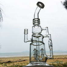 Unknown Totem Creative Hookah Glass Smoking Water Pipes (ES-GB-293)