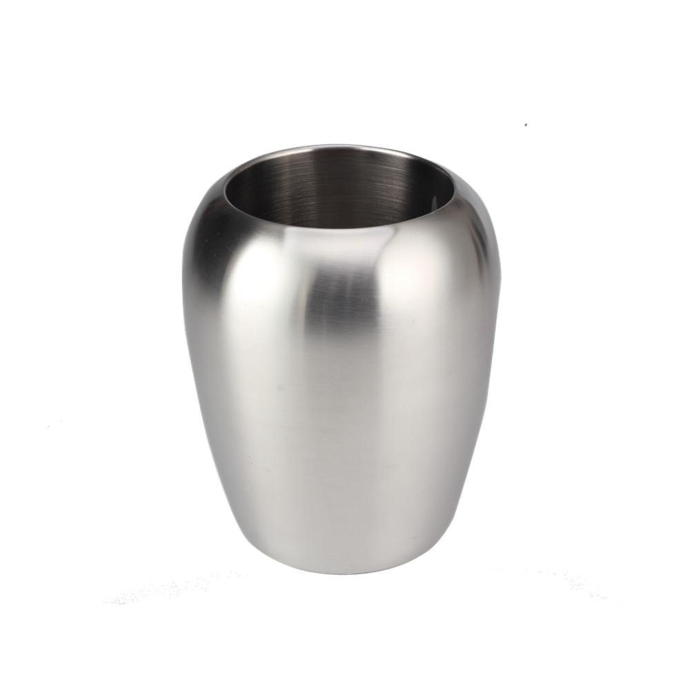 Satin Polishing Wine Bottle Cooler Ice Bucket