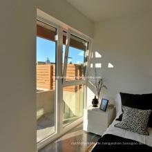 Feuchtigkeits-Proofing Tilt und Turn Double Glass Aluminium-Fenster