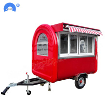 China Factory for Food Truck Factory Directly Selling Fast Food Trailer Cart export to Kyrgyzstan Factories
