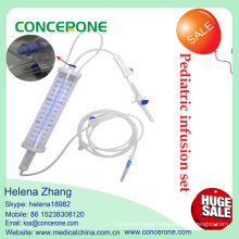 Disposable Pediatric IV Infusion Set with Burette