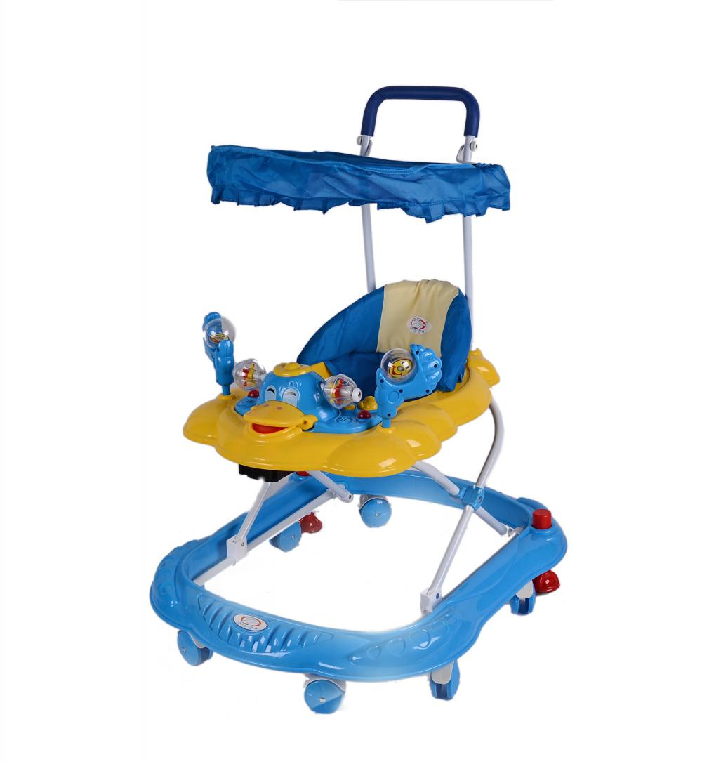 Baby Walker with Sunshade and Seat