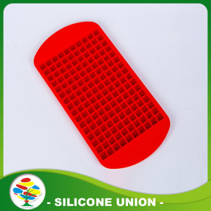 Red Rectangle Hi-quality Silicone Ice Mold