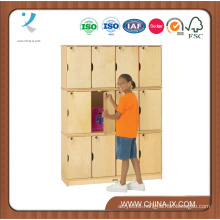 """Triple Stacking Kids Lockers with 15"""" Deep Compartments"""