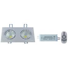 НД-серии RF пульт дистанционного управления Цветовая температура и затемнения cob светодиодные вниз света -2