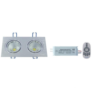 ND-a Série RF Controle Remoto Color Temperature e Dimmable COB LED Down Light -2