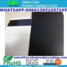 sand texture effect black RAL9017 powder coating