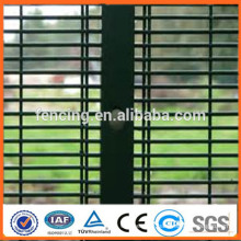 PVC coated galvanized military anti climb 358 high security fence