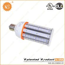 UL Dlc IP64 6000k E39 E40 9000lm 60W LED Corn COB Light