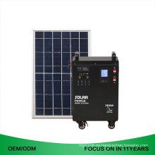 Generador de energía solar portátil de la fabricación 220V para el uso en el hogar