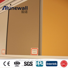 Alunewall Brand High Quality Machine Produce With Best Price List 4mm Nano PVDF Aluminium Composite Panel