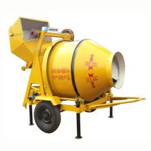 Mezclador de cemento concreto móvil de gran capacidad JZC350 grande para la construcción