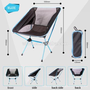 Chaise pliante portative de camping, chaise de camping pliable, chaise pliante de camping