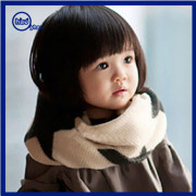 Yhao Korean Style Lovely Acrylic Fashion Baby Scarf Kids Infinity Scarf