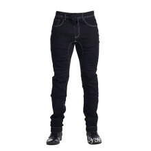 Pantaloni da uomo in denim nero Pantaloni in denim nero
