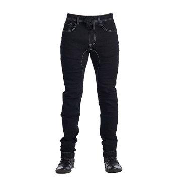 Pantalon Denim Jogger pour hommes Pantalon Denim en coton noir