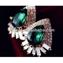 2014 fashion accessories emerald earrings