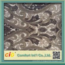 Tissu d'ameublement pour la couverture de sofa avec beaucoup de conceptions