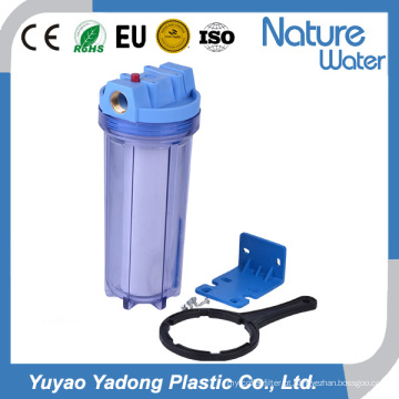 """Caixa de filtro de 10 """"transparente para sistema de filtragem de água"""