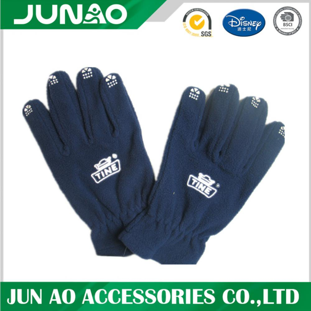 Custom Fashion Promotiona Warm Fleece Gloves