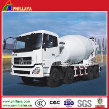 6X4 Schwerlast-halb Anhänger-LKW-Zement / Mischer
