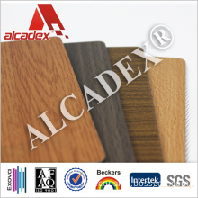 Wooden Finished Aluminum Composite Panel