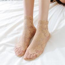 Thin Mesh Tulle Socks Sexy Tulle Socks Thin Lace Transparent Socks