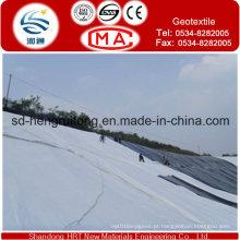 Geotêxtil não tecido perfurado do poliéster agulha padrão de Europa / geotêxtil não tecido