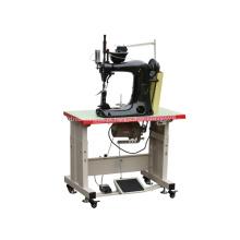 Máquina de costura de ponto de corrente de três agulhas