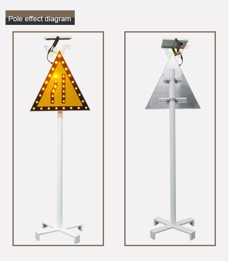 Aluminum Solar Traffic Sign Board_09