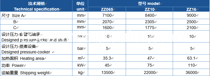 cooker specification