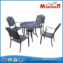 Cast Aluminum Furniture Outdoor Dining Set Home Furniture Garden Furniture