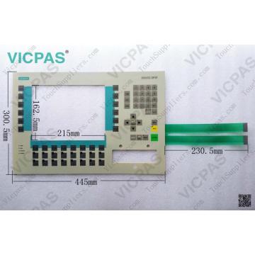 6AV3637-1LL00-0AX1 OP37 Folientastatur / Folientastatur 6AV3637-1LL00-0AX1 OP37