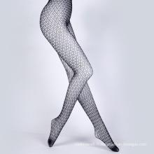 Collants sexy en maille de résille en nylon pour femme (FN002)
