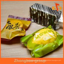 Transparente / Bunte Plastikbeutel Tasche für Kuchen / Brot / Keks / Schokolade / Süßigkeiten / Mandel / Bäckerei Verpackung