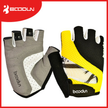 Outdoor Sport Mountain Biking Half Finger Sublimierte Fahrradhandschuhe
