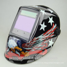 Diseño patentado Solar Auto Darkening Welding Helmet