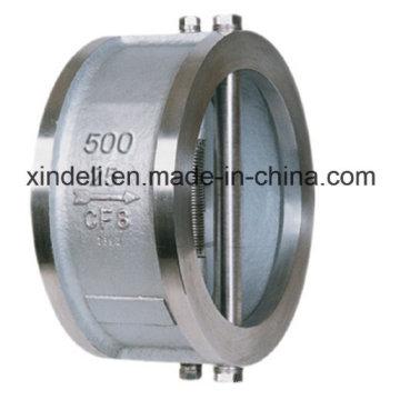China Hersteller Wafer Doppel-Disc Swing Rückschlagventil