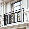 Powder Coated Aluminium Balcony Balustrade