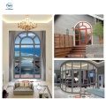 French Ready Made Aluminium Casement Windows For House