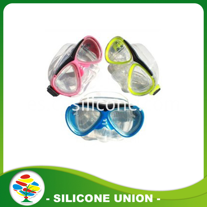 silicone diving glasses