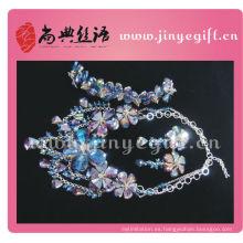 Shangdian con cuentas de cristal artesanal artesanal joyería artesanal