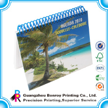 Wholesale desk planner full color custom stand up calendar