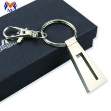 Metal zinc alloy custom keyring with logo