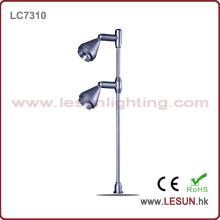 Brillo 2X1w Exhibición de la joyería Luz / Luz del gabinete LC7310