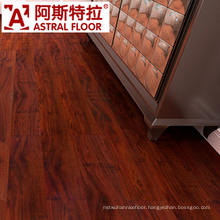Dark Red Color in 12mm Waterproof Laminated Flooring
