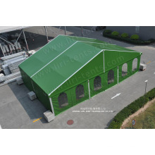 Clear Span 15m Green Color Military Zelt Armee Rettungszelt