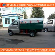 Caminhão de lixo Changan Mini Caminhão de lixo 4X2 Caminhão de lixo