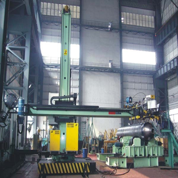 Narrow Gap Welding Column And Boom
